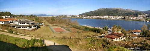 O Miño en Goián (Tomiño, Pontevedra) (mil visitas)