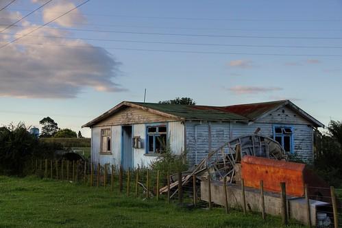Old house, Hydro Road, Edgecumbe, Bay of Plenty, New Zealand
