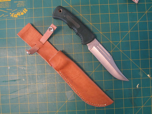 Hunting Knife outside of sheath