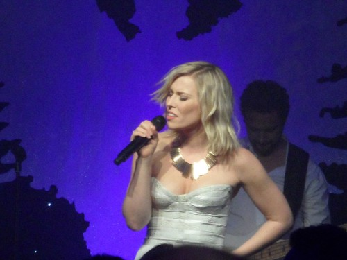 Leona Lewis Natasha Bedingfield & Friends, London, 2.12.11 underwear