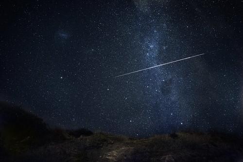 無料写真素材, 自然風景, 空, 夜空, 星, 流星