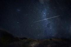 [フリー画像素材] 自然風景, 空, 夜空, 星, 流星 ID:201203022000