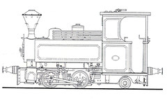 The Baguley locomotive