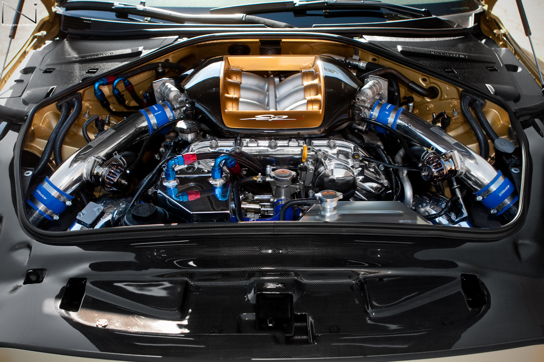 TommyKaira GT-R R35 Engine Bay