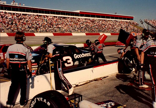 earnhardt pitting