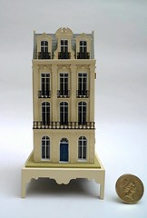 144th scale French Town House