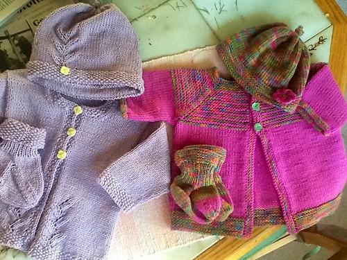 Baby cardigan sets