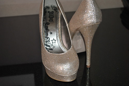 Brash by Payless Glittery Pumps Plus size fashion