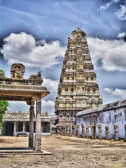 Ekambareswarar Temple. Kanchipuram. Храм Экамбарешвара. Канчипурам.
