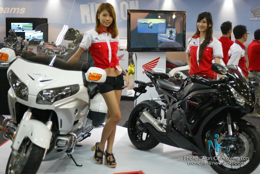 Honda Booth MotorXpo 2012