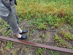 The railway line E of Grévillers