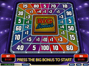 Crazy Vegas Slot Big Bonus Game