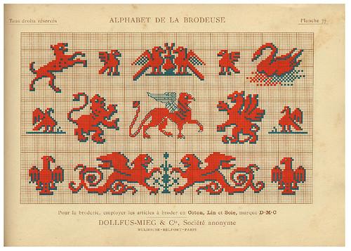 017-Alphabet de la Brodeuse1932- Thérèse de Dillmont