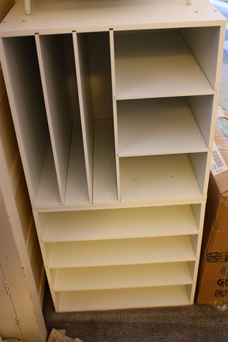 Scrapbook shelves
