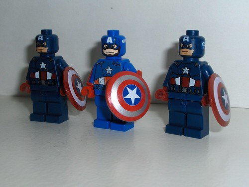 Custom Captain America VS LEGO