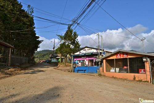 Monteverde Costa Rica dirt town cloud forest