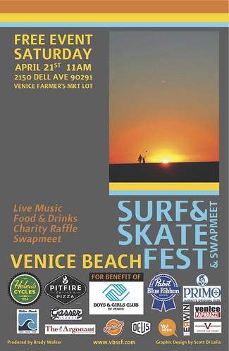 Venice Beach Surf & Skate Fest & Swapmeet