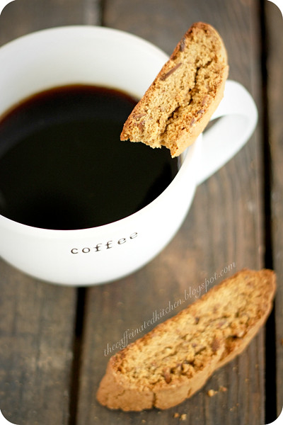 Espresso-Almond Biscotti