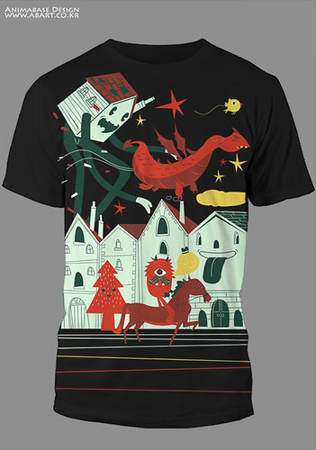 (T-shirt Design) Visitors
