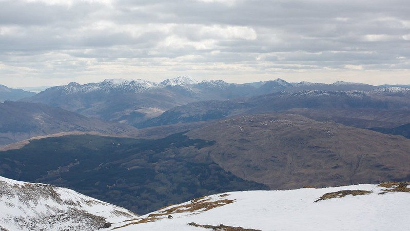 Towards Loch Lomond and Arroachar