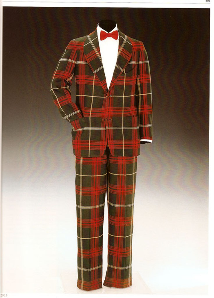 Hunting MacLeod tartan tweed suit