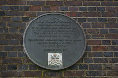 Photo of John Urpeth Rastrick and Balcombe Ouse Valley Viaduct bronze plaque