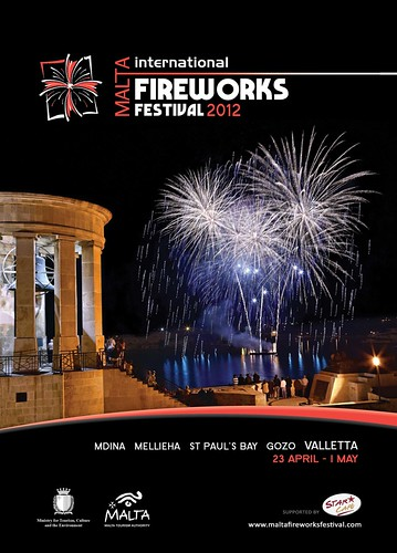 MALTA  INTERNATIONAL FIREWORKS FESTIVAL 2012