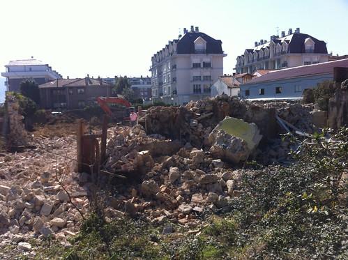 Mansion Destroyed