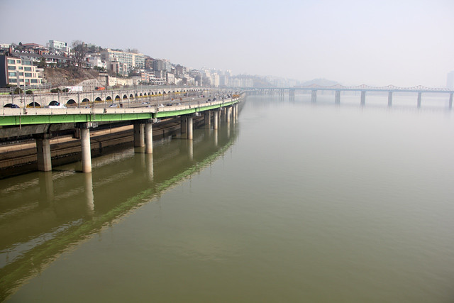Han River in Seoul, South Korea