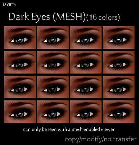 Dark Mesh Eyes