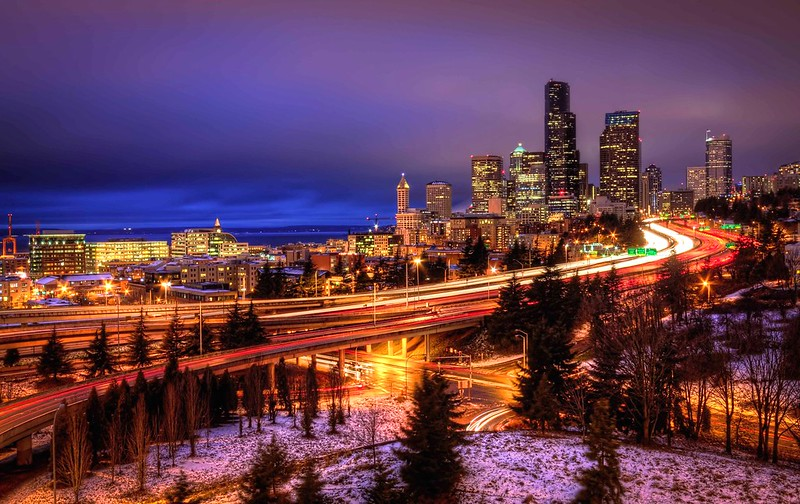 Magical Seattle from 12th Street Bridge