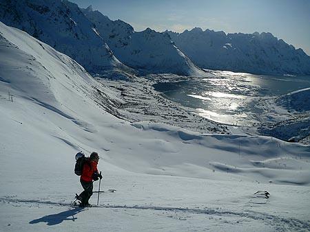 Esquí de travesía en Lofoten