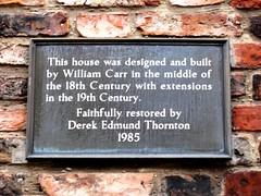 Photo of Bronze plaque number 9597