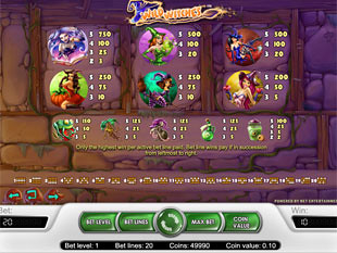 free Wild Witches slot payout