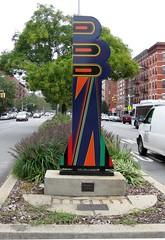 Algernon Miller's Tree of Hope III, on 7th Avenue at 131st Street.