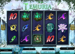 The Land of Lemuria Slot Machine