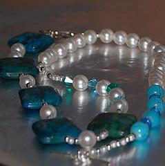 bracelet(0.0), art(1.0), jewelry making(1.0), turquoise(1.0), aqua(1.0), turquoise(1.0), cobalt blue(1.0), jewellery(1.0), gemstone(1.0), bead(1.0),