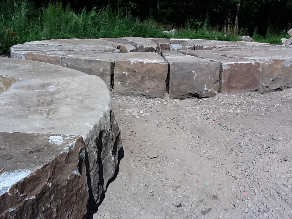 Reclaimed Granite Center Pier Block | Granite Blocks Reclaim