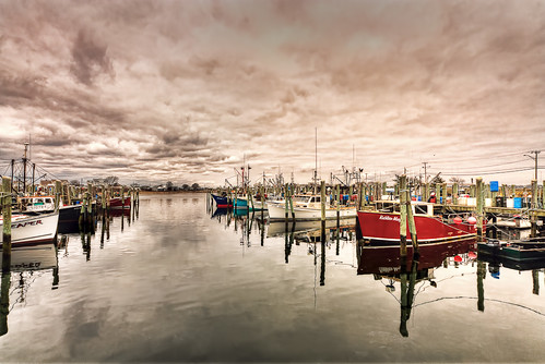 Fishing Boats by mike_dooley