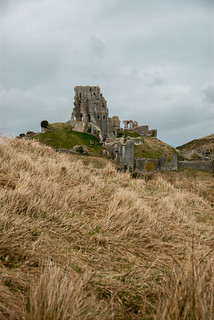 Corfe Castle from The Rings