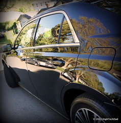 Side View - 2012 Chrysler 300S