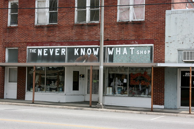 The NEVER KNOW WHAT Shop - LawrenceburgTN2012 - 3