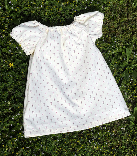 peasant-style baby dress