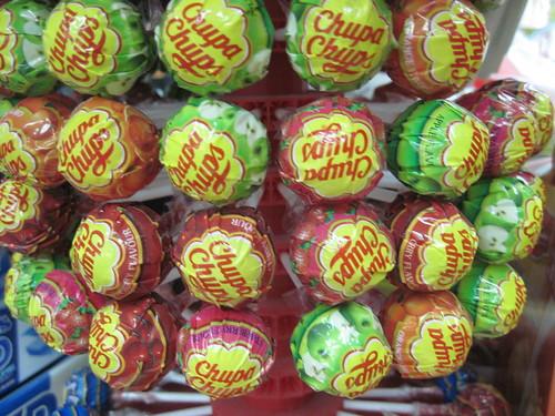 Grocer Sells Chupa Chups