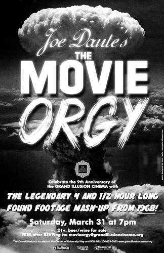 Movie Orgy poster by Marc Palm AKA Swellzombie