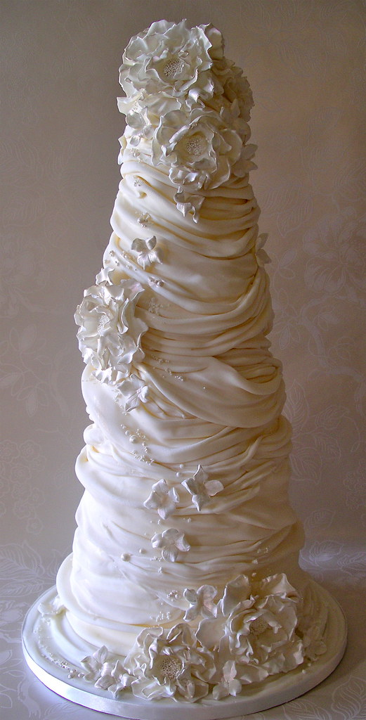 Cake Designs With Whipped Cream : whipped cream wedding cake - a photo on Flickriver