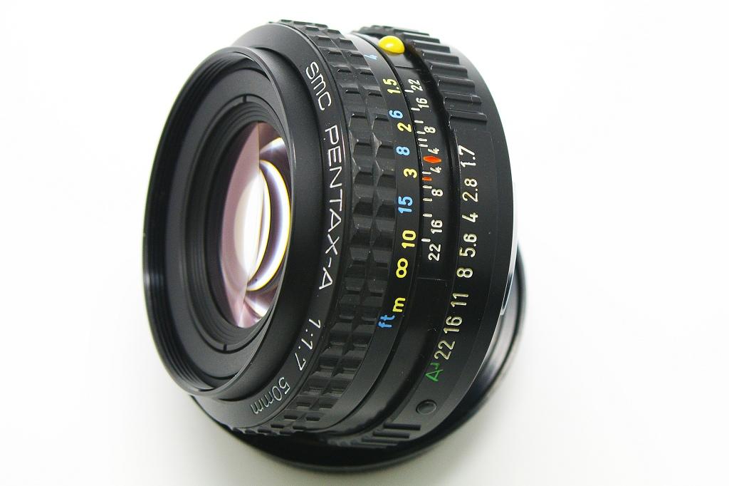 SMC PENTAX-A 1:1.7 50mm