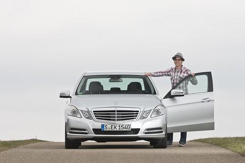 Griin-Autor Dominik & der E300 BlueTEC Hybrid