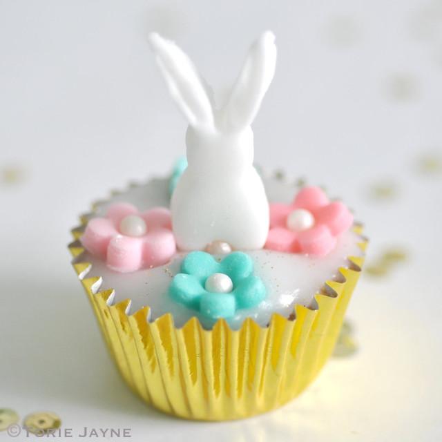 Gluten free Mini bunny cupcake