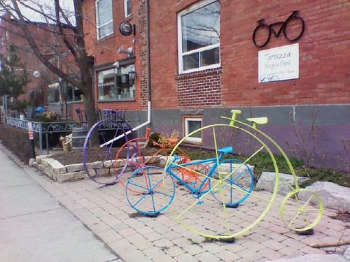 Terrazza Bicycle Park, 372 Harbord Street